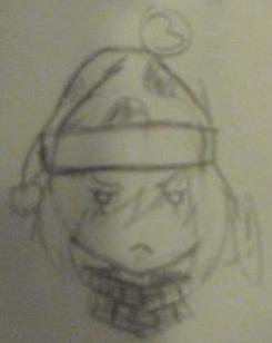 One Grumpy Santa by Kitsu-kaito by MomoShino