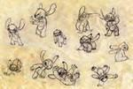 Stitch sketches