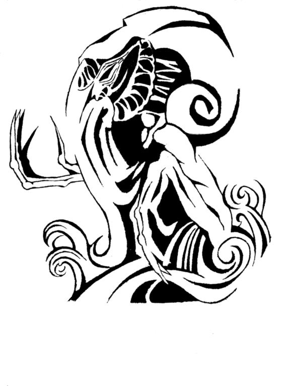 Cthulhu tattoo by cgdobson on DeviantArt