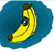 random banana on iscribble by sjk246
