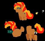 British Ninja Pointy Pony
