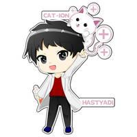 hastyadi and cat+ion 2