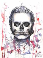 Skull Boy by GeorgeZamza