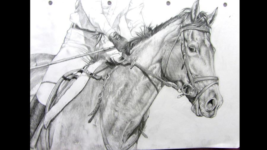 Hunter Drawing by IncredibleNacho