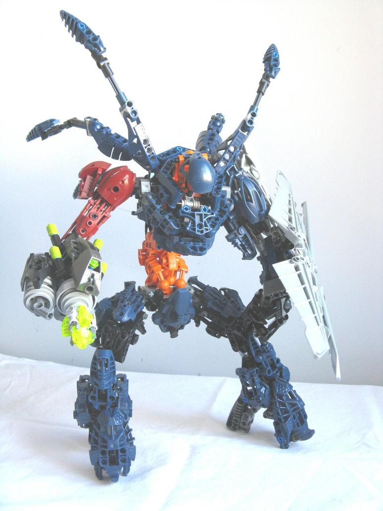 Lego Bionicle: Hunter by retinence