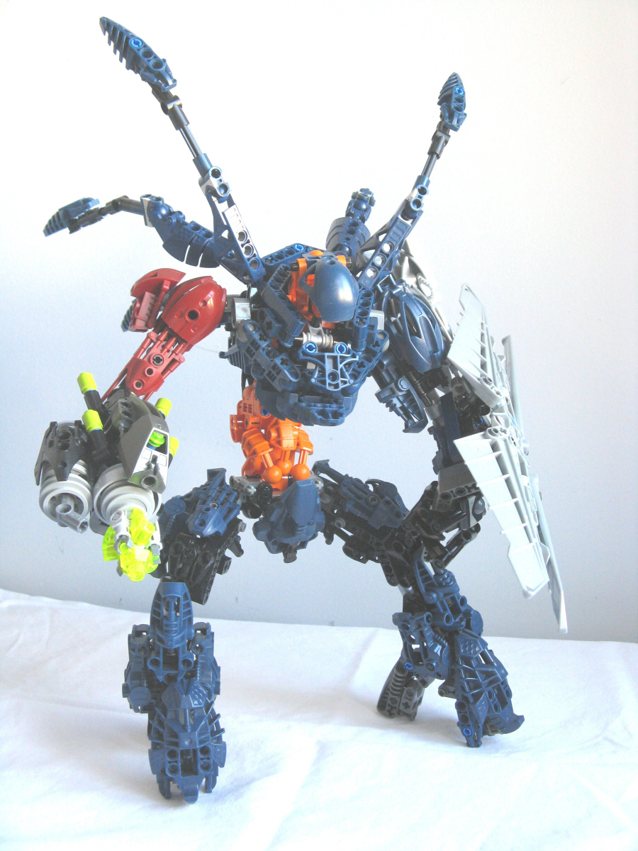 Lego bionicle hunter by retinence on deviantart - Lego spartan halo ...