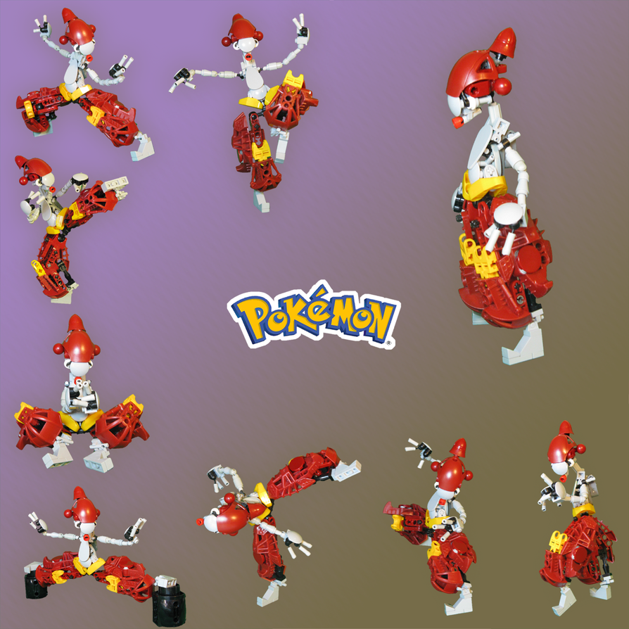 Pokemon: Medicham by retinence