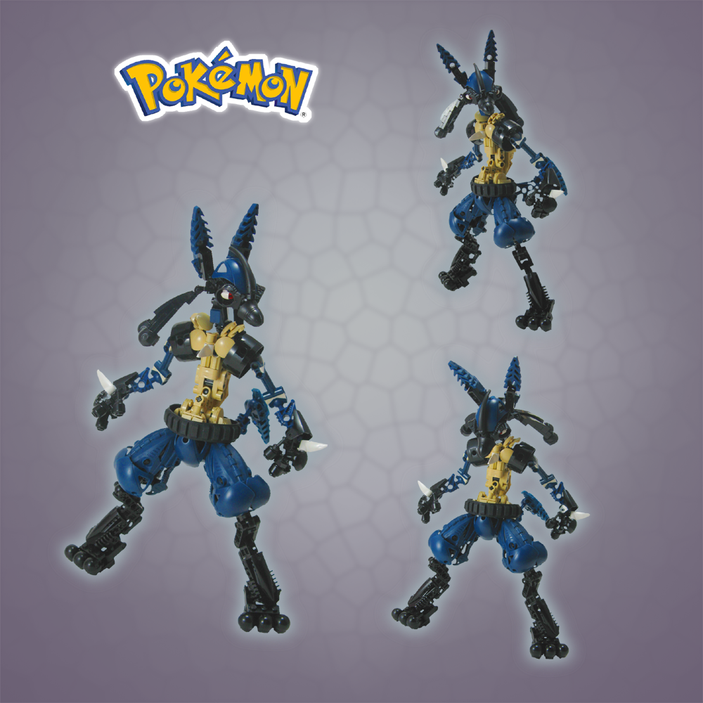Pokemon: Lucario by retinence