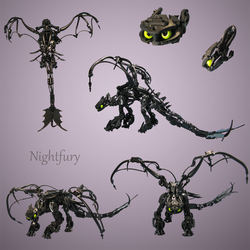 Lego: Nightfury by retinence