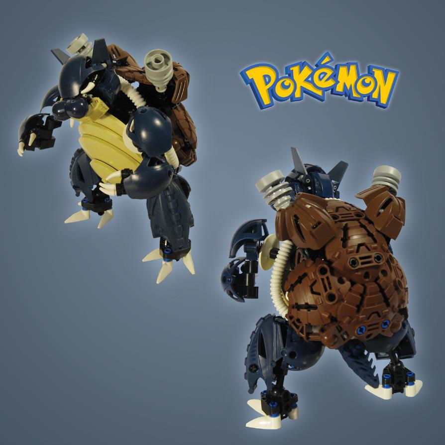 Pokemon: Blastoise by retinence