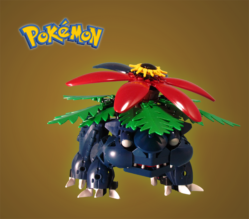 Pokemon: Venusaur by retinence