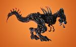 Lego Xenomorph Rex