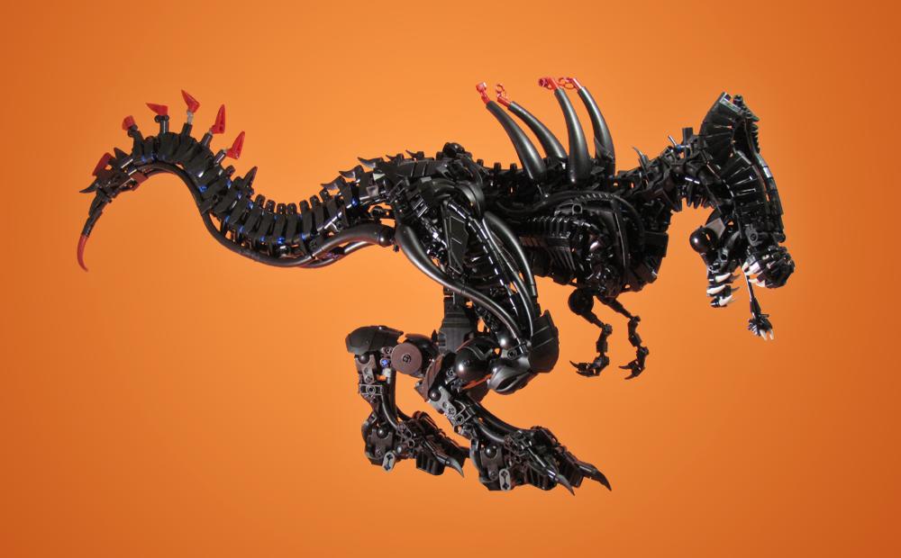 Lego Xenomorph Rex by retinence
