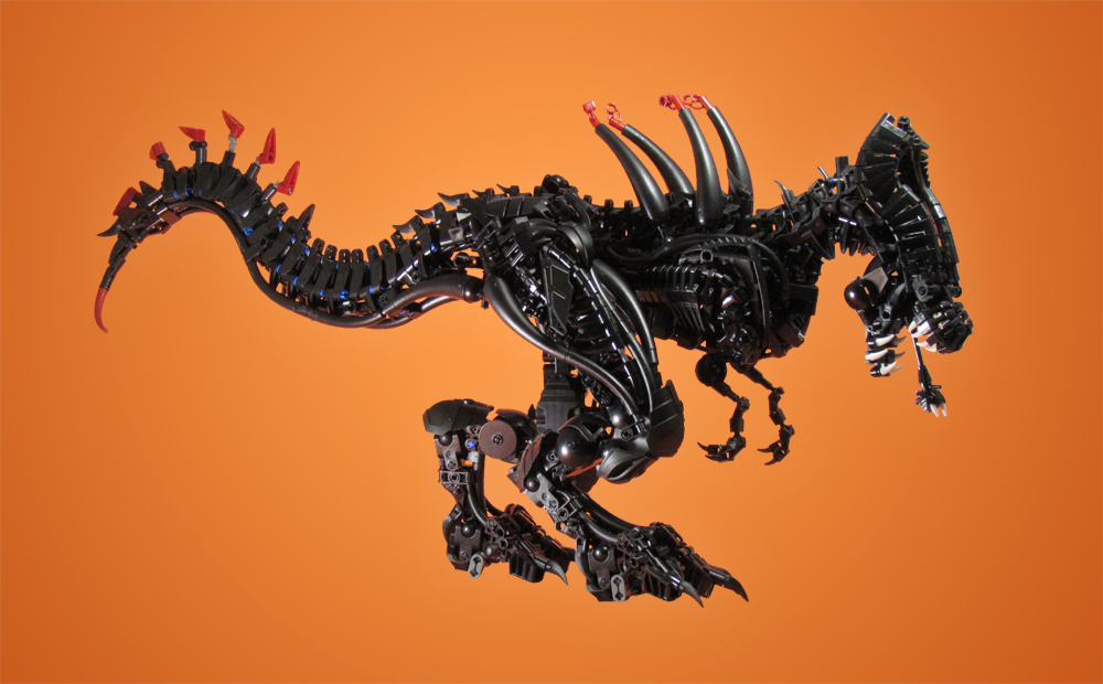 Lego Xenomorph Rex By Retinence On Deviantart