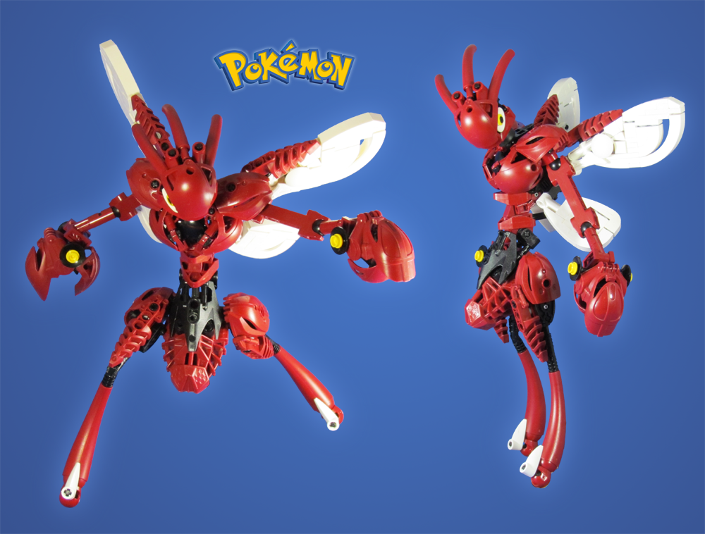 Commission: Pokemon Scizor by retinence