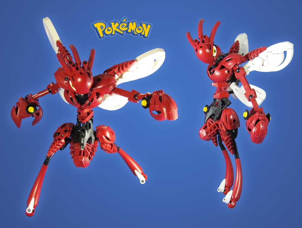 Commission: Pokemon Scizor by retinence