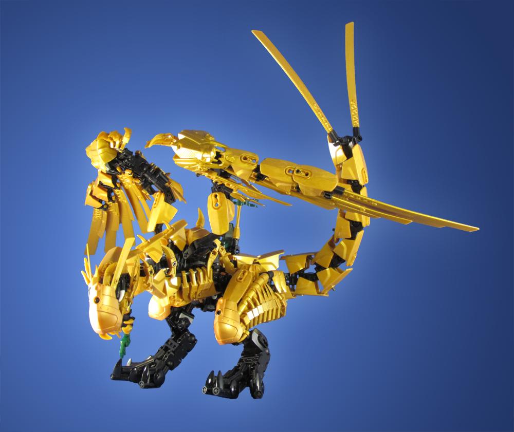 commission ninjago golden dragon by retinence on deviantart. Black Bedroom Furniture Sets. Home Design Ideas