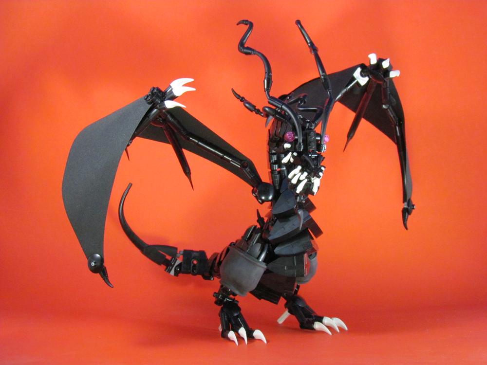 Ninjago Overlord Dragon 2 by retinence