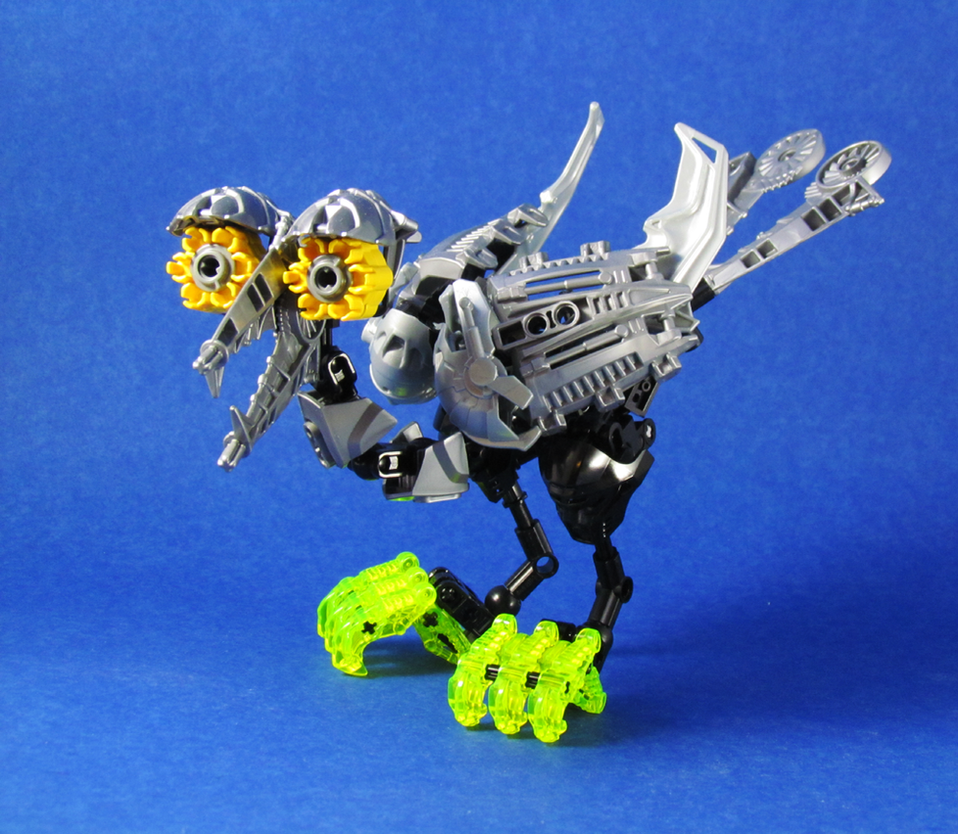 Bionicle Bird Thing by retinence