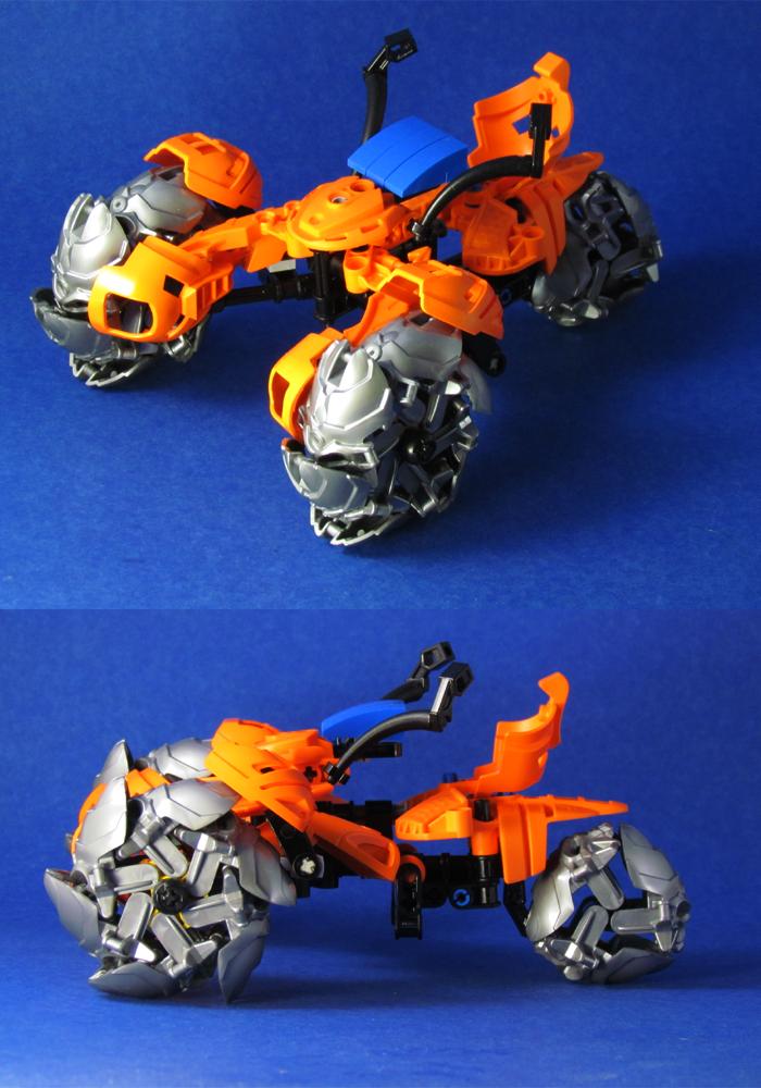 Bionicle Trike by retinence