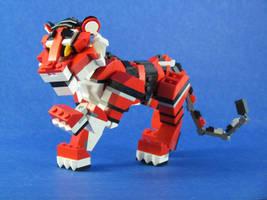 Rojo, the Tiger Cub