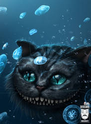 Cheshire Cat Underwater by HjalmarWahlin
