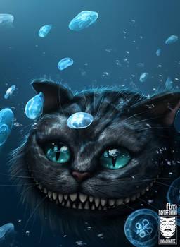 Cheshire Cat Underwater
