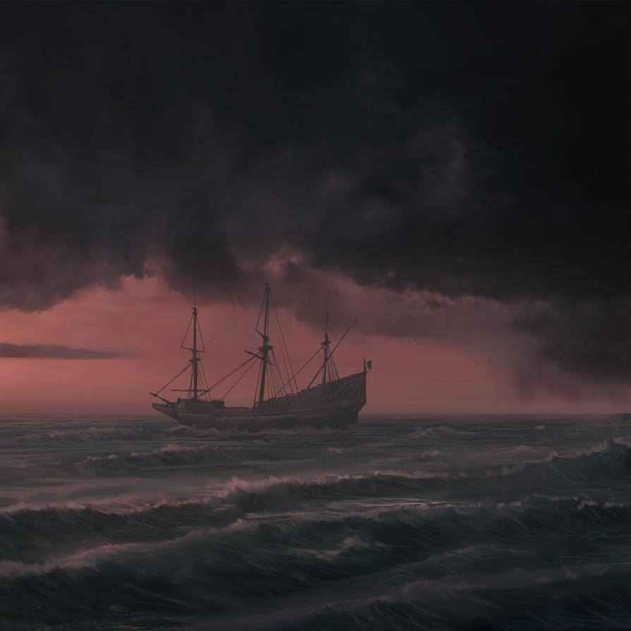Lost ship by HjalmarWahlin