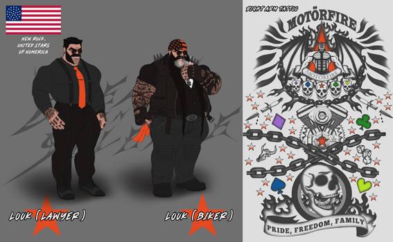 Dreams in Silence: Louk (Lawyer and Biker+Tattoo)