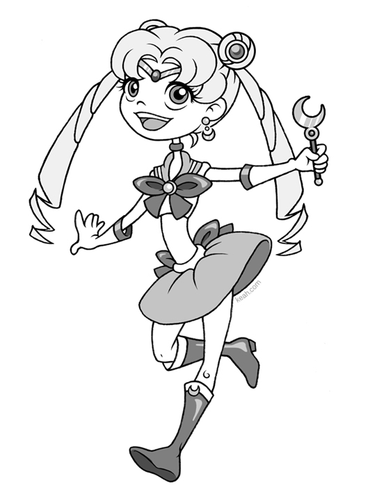 Sailor Derpy Moon by Keah