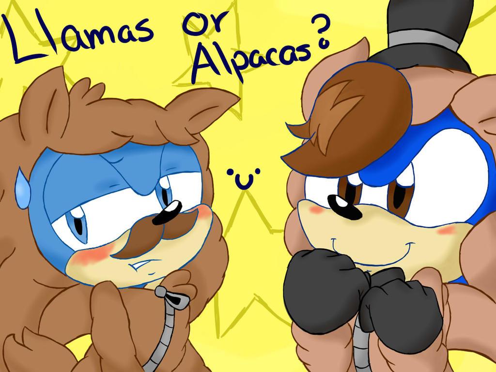 ~Llamas or Alpacas?  0u0 by Chilidogs7442