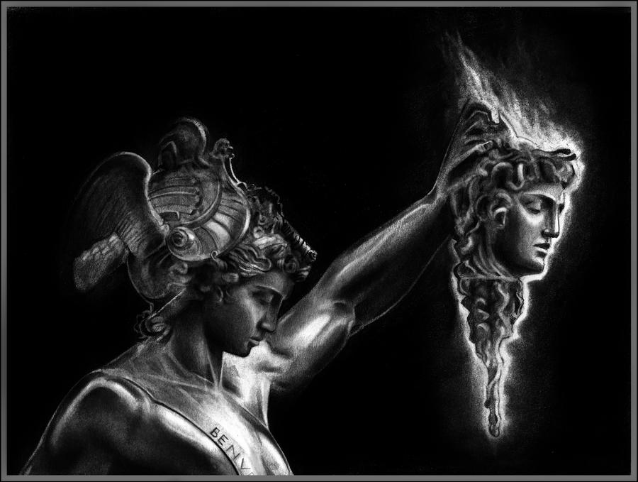 Perseus Animation PERSEUS AND MEDUSA by Vagavans