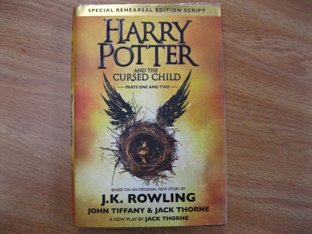 Harry Potter And The Cursed Child Parts 1 and 2!!! by ...