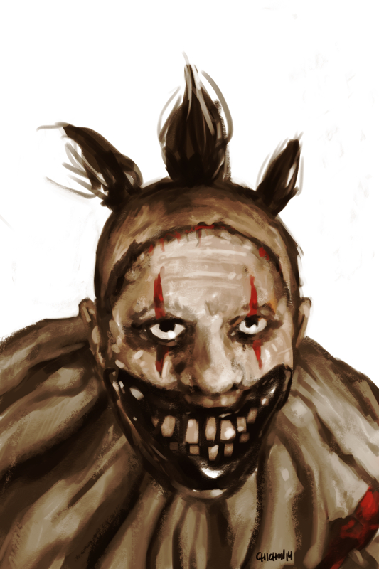 Twisty from American Horror Story Freak Show by shutendogi