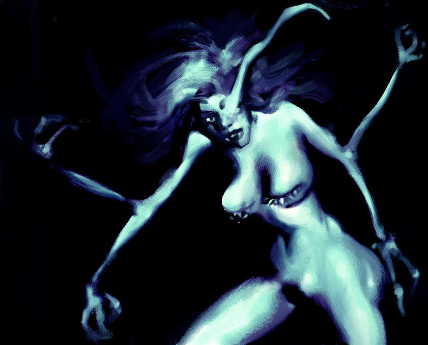 Devilman Demon by shutendogi