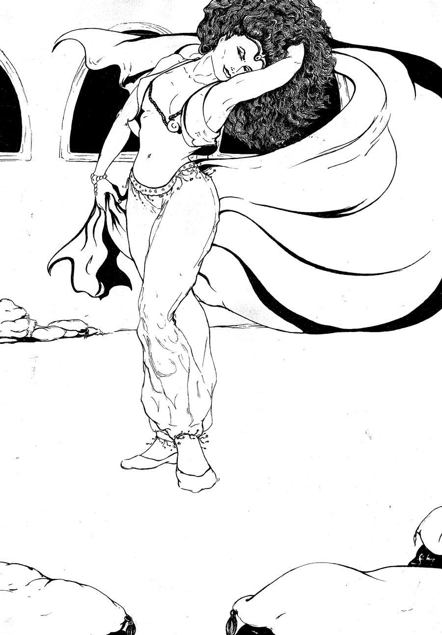 belly dancer by debrat...