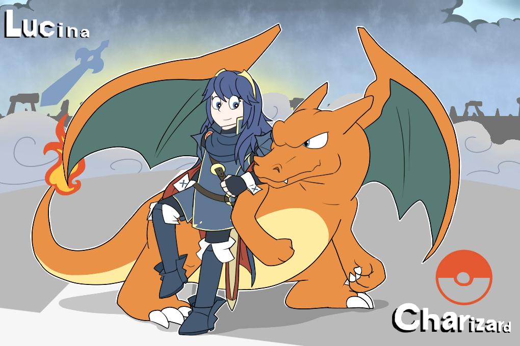 Dragon and Princess by GlassesGator