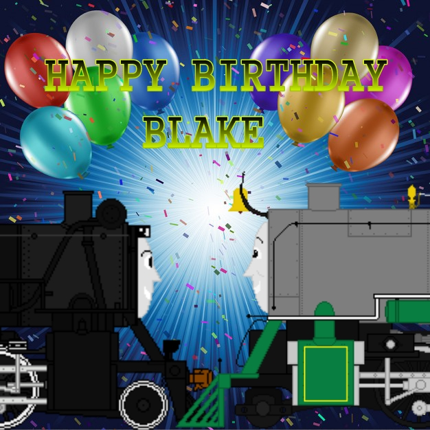 Happy Birthday Blake By GreyhoundProductions On DeviantArt