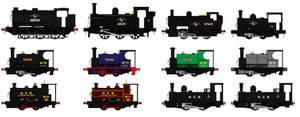 Bristol Colliery Locomotive Roster 1958 - 1964