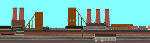 Bristol Colliery Marshalling Yard by GreyhoundProductions