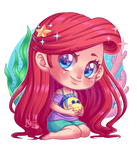 Chibi Ariel from Wifi Ralph
