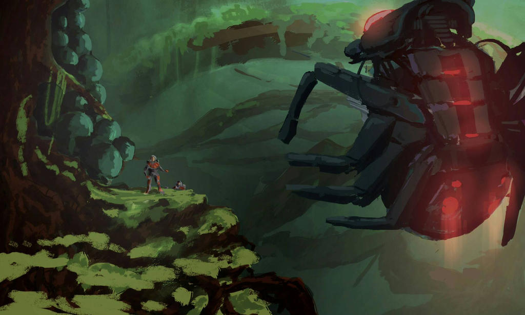 Mission to Arachnis 6