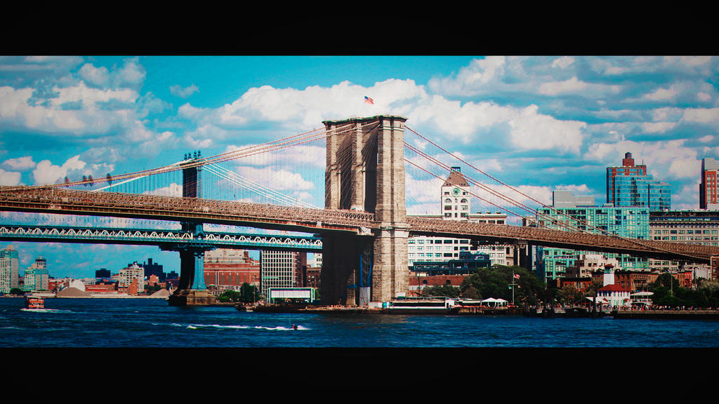 The Brooklyn Bridge by LenNemo