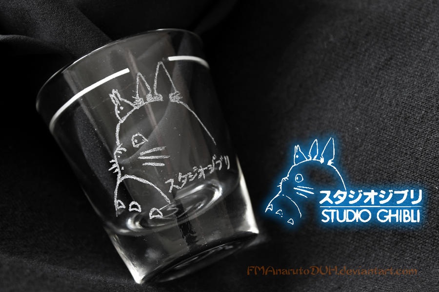 Studio Ghibli shot glass