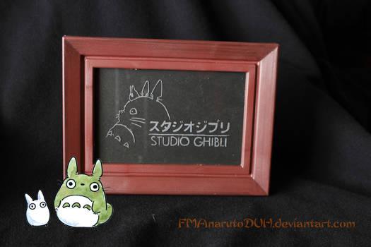 * Studio Ghibli logo frame