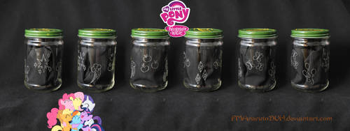 * MLP cutie mark jar