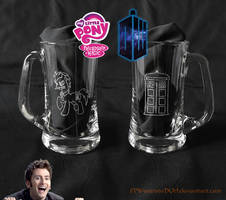 Dr Hooves beer mug
