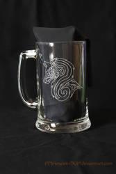 Tribal Wolf Mug