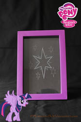 Twilight Sparkle cutie mark frame