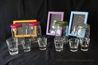NW Bronyfest 2015 glass prep